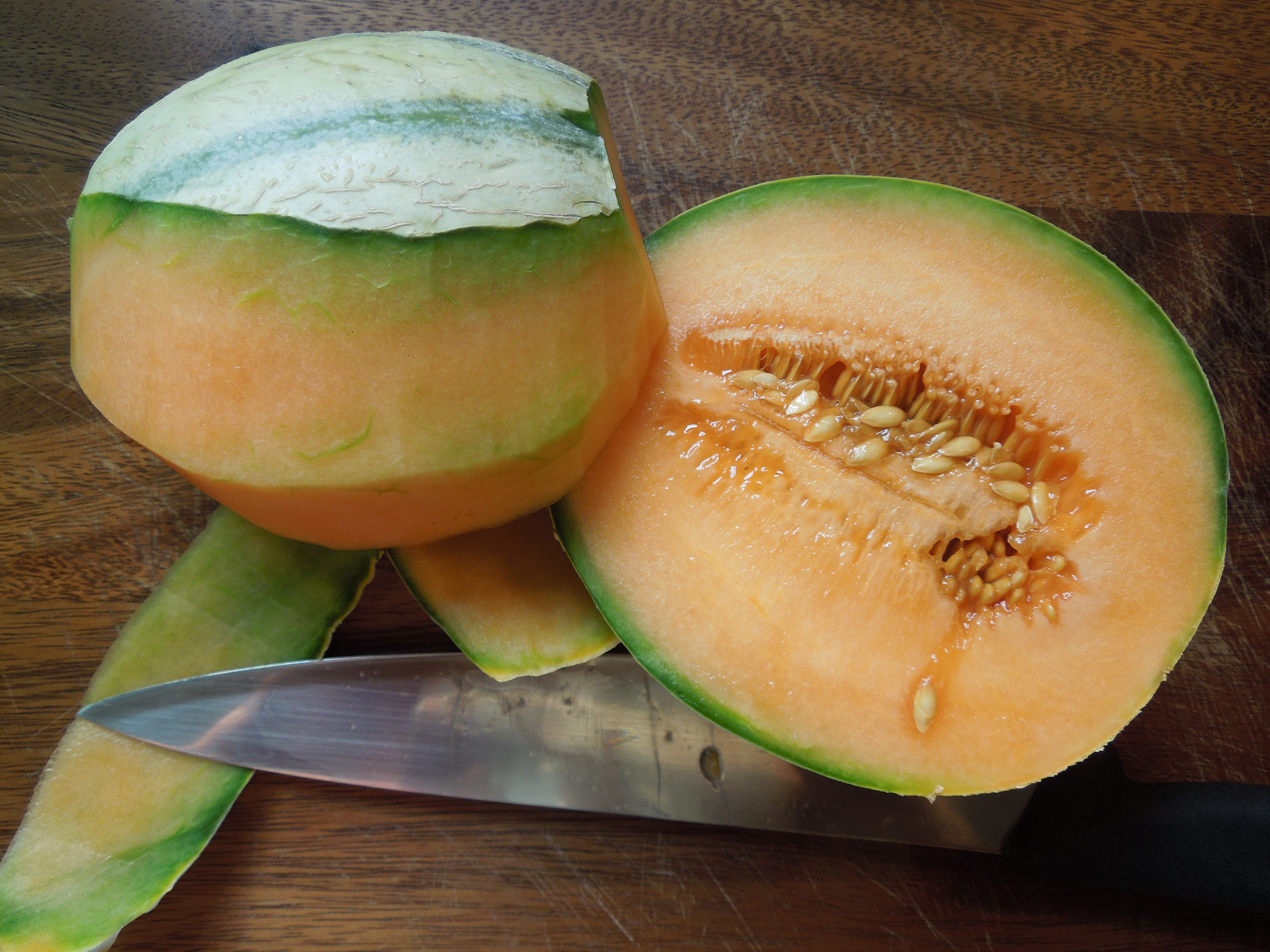 Fast schon sommer salat for Melone charentais