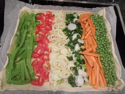 Bereit für den Ofen