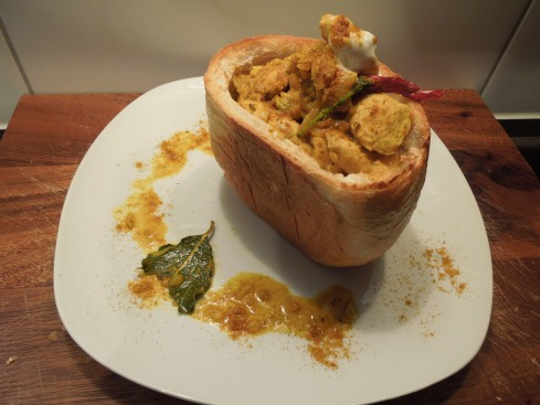 Chicken Bunny Chow