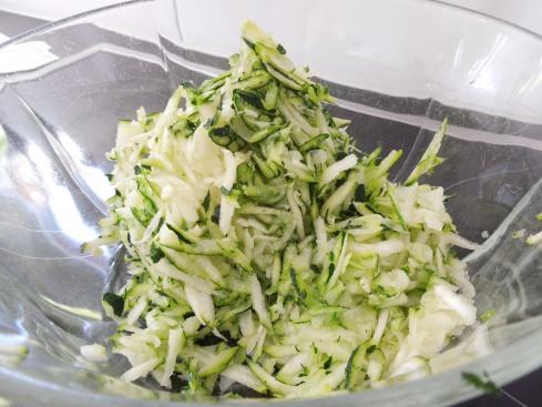 Zucchini-Raspel