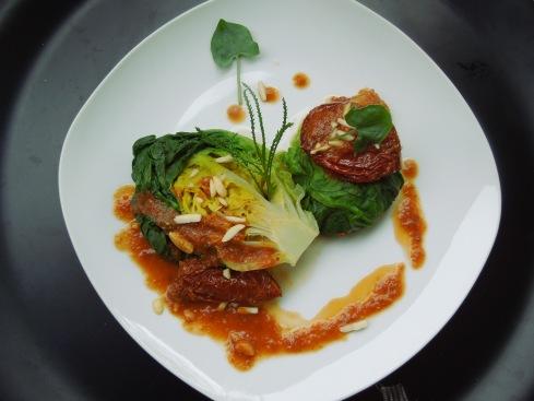 Kopfsalat gedämpft