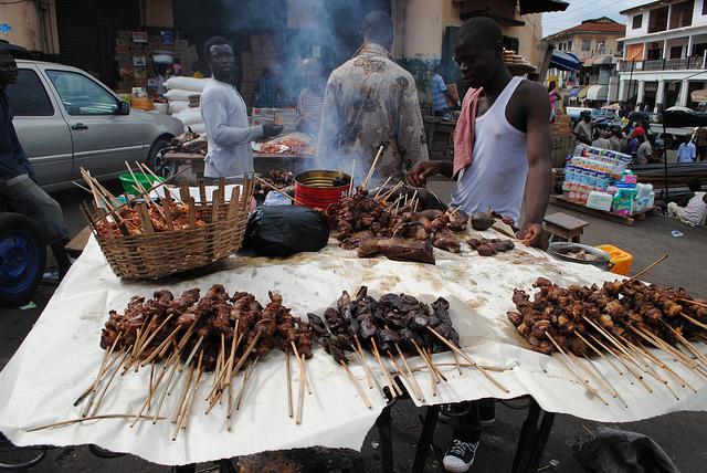 kumasi street food