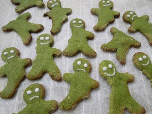 GrüneWeihnachtsmännchen