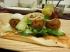 Gelberbsen-Falafel mit Orange und Fenchel