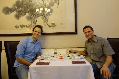 Essen verbindet: zwei Gourmets haben sich gefunden!