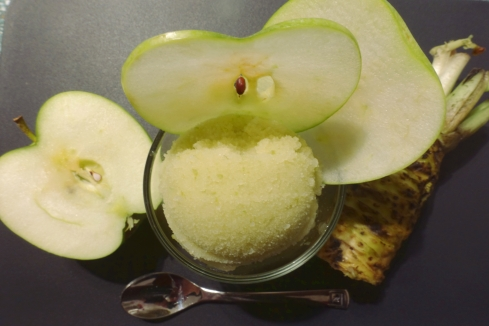 Green Apple Wasabi Sorbet